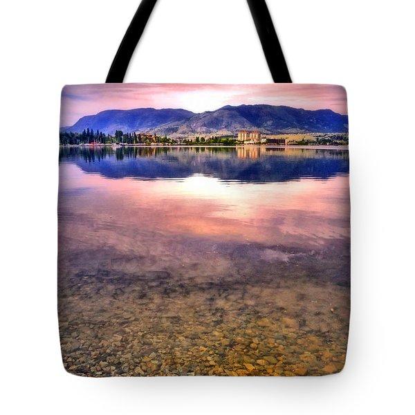 An Okanagan Glow Tote Bag