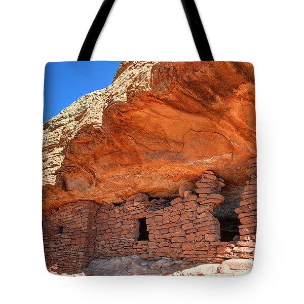 Anasazi Citadel Ruin - Cedar Mesa Tote Bag