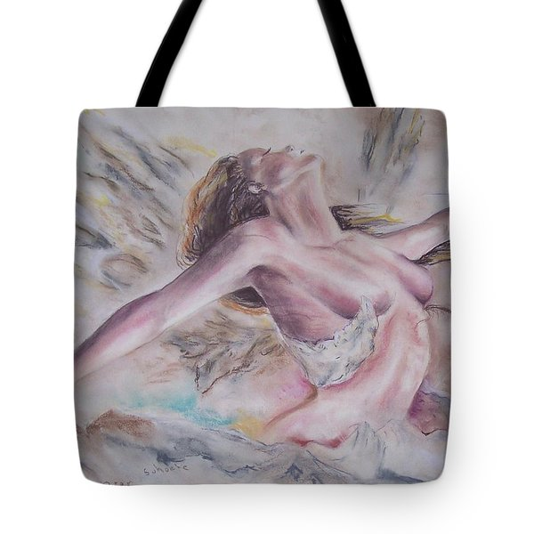 Angel Burst Tote Bag by Peter Suhocke