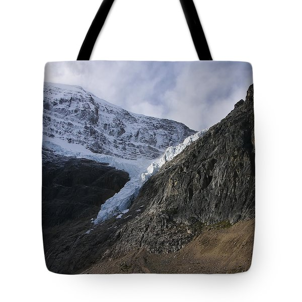 Angel Glacier Tote Bag