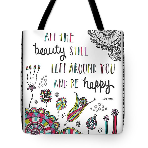Anne Frank Quote Tote Bag