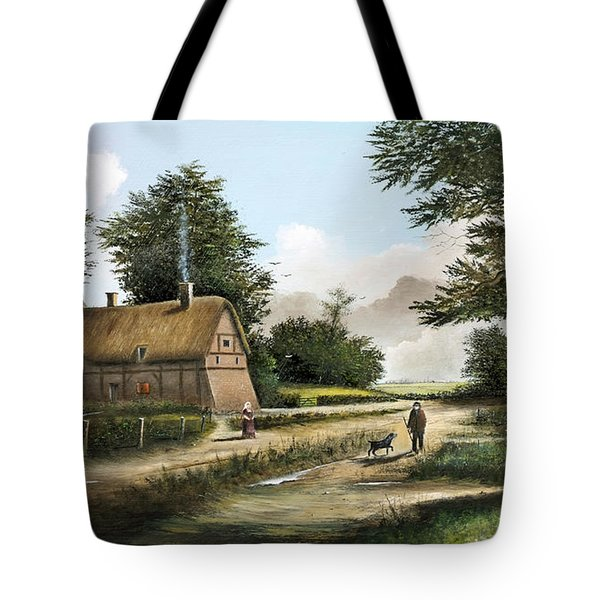 Anne Hathaway's Cottage Tote Bag