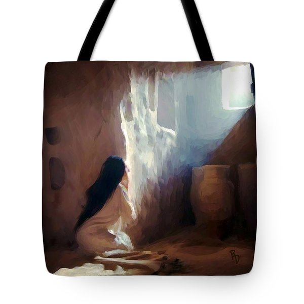 Annunciation Of Mary Tote Bag
