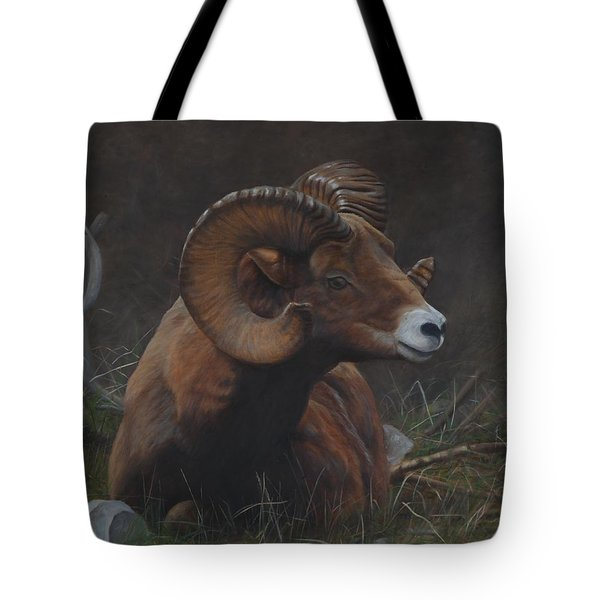 Tote Bag featuring the painting Anticipation by Tammy Taylor