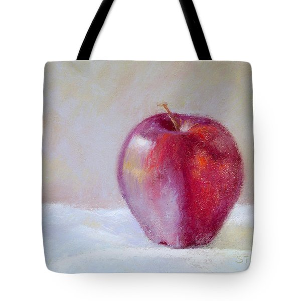 Apple Tote Bag by Nancy Stutes