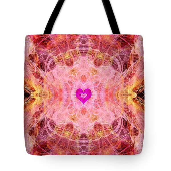 Archangel Chamuel Tote Bag