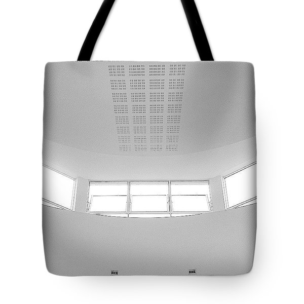 The Roof 2 Tote Bag by Jason Michael Roust