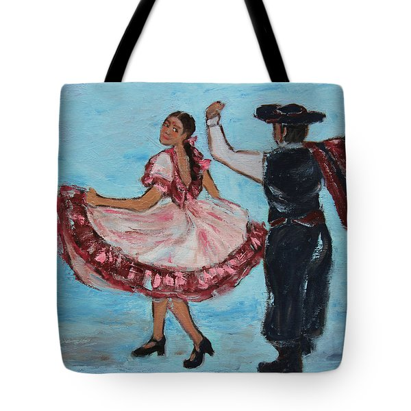 Argentinian Folk Dance Tote Bag