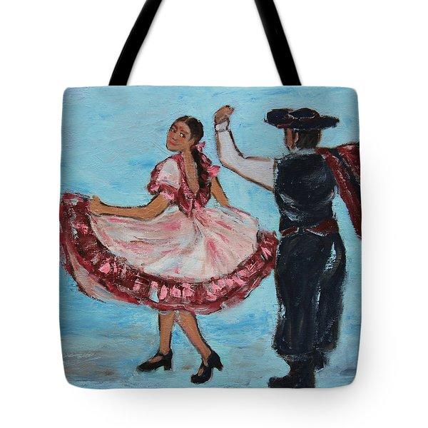 Argentinian Folk Dance Tote Bag