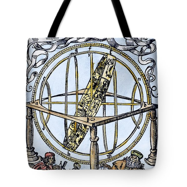 Armillary Sphere, 1514 Tote Bag