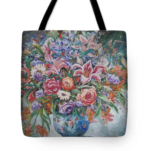 Arrangement II Tote Bag