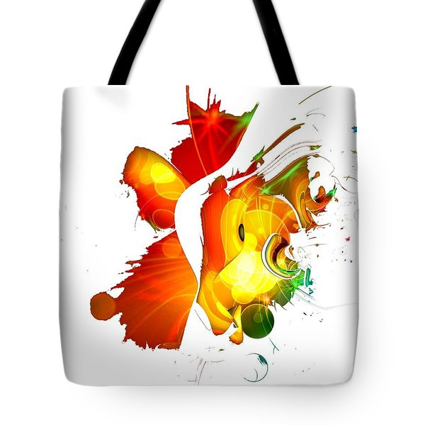 Art-abstract By Nico Bielow Tote Bag by Nico Bielow