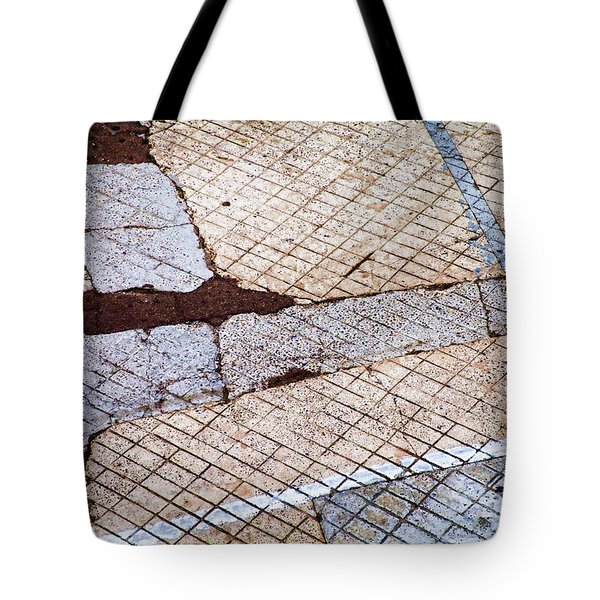 Art In The Street 1 Tote Bag by Carol Leigh
