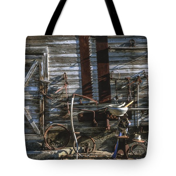 As Time Goes By Tote Bag by Sandra Bronstein