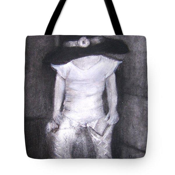 Aspiring Cowboy Tote Bag