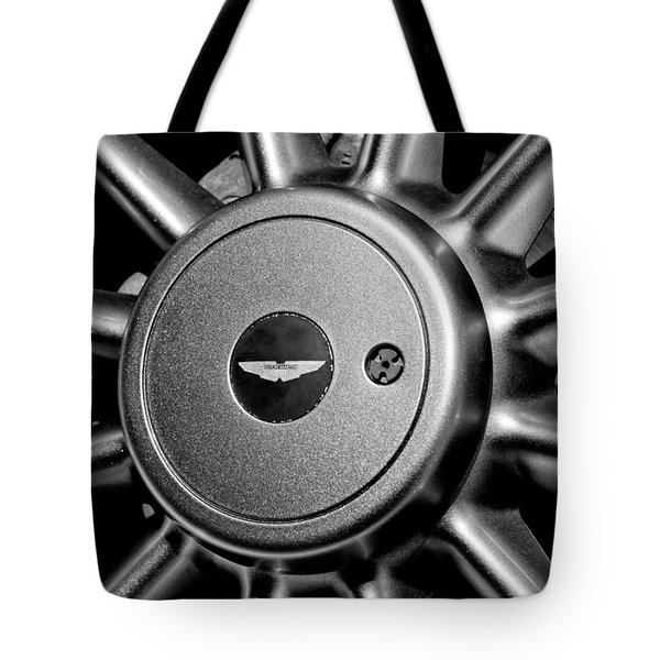 Aston Martin Db7 Wheel Emblem Tote Bag