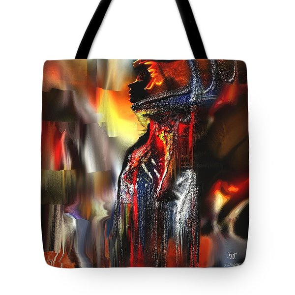 Astral  Tote Bag by Francoise Dugourd-Caput