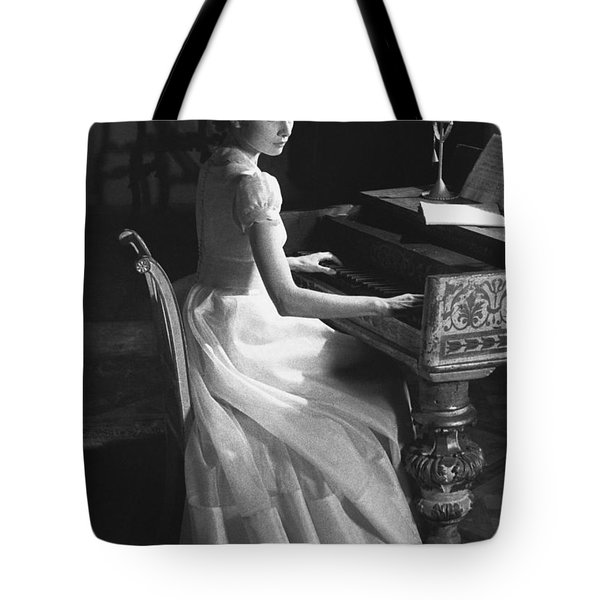 Audrey Hepburn Tote Bag by George Daniell