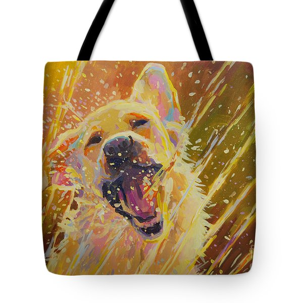 August Tote Bag by Kimberly Santini