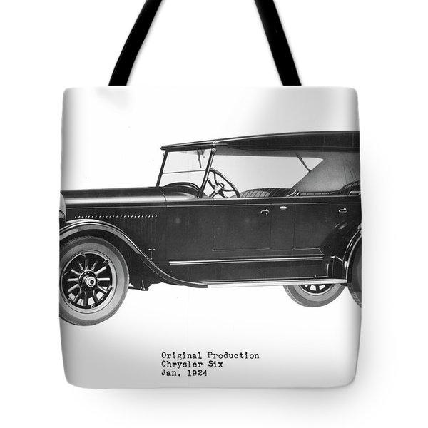 Automobile Tote Bag