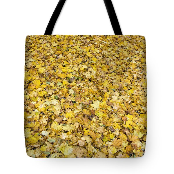 Autumn Leaves Tote Bag by Michal Boubin