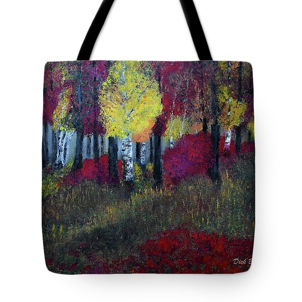 Autumn Peak Tote Bag