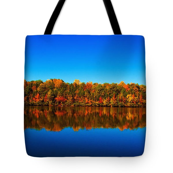 Autumn Reflections Tote Bag by Andy Lawless