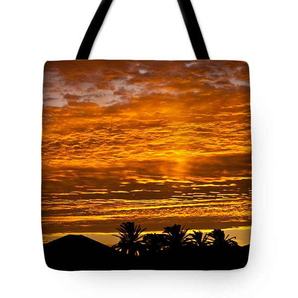 Tote Bag featuring the photograph 1 Awsome Sunset by Brian Williamson