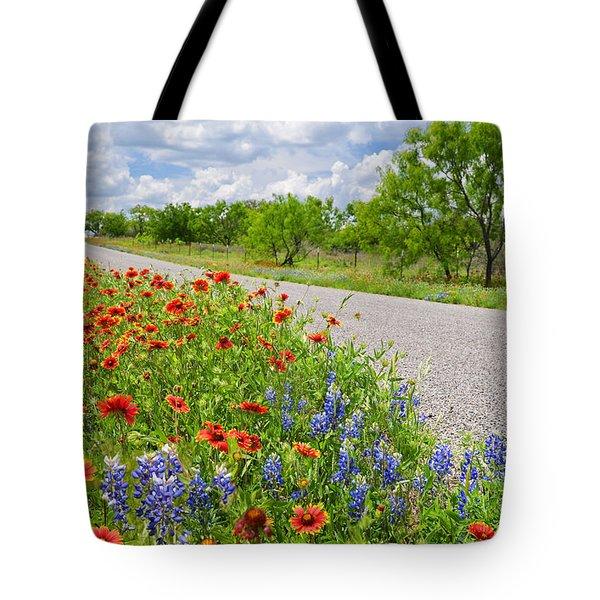 Backroad Beauty Tote Bag by Lynn Bauer