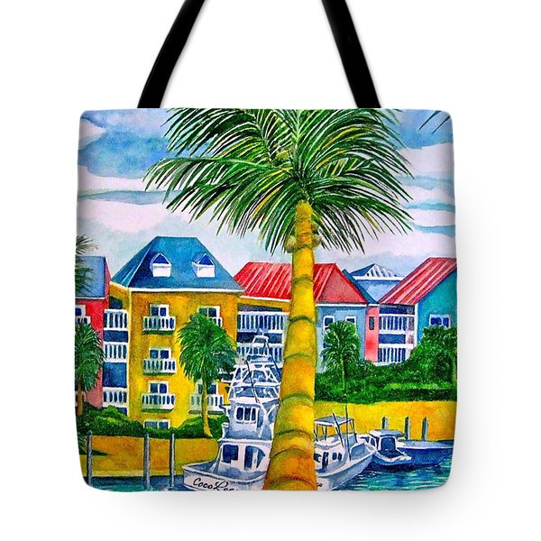 Bahamian Blues Tote Bag