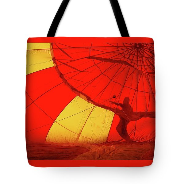 Tote Bag featuring the photograph Balloon Fantasy 2 by Allen Beatty