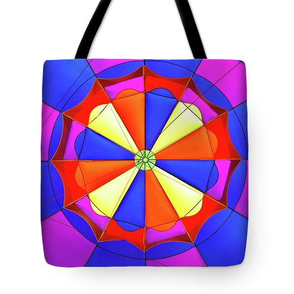 Tote Bag featuring the photograph Balloon Fantasy 3 by Allen Beatty