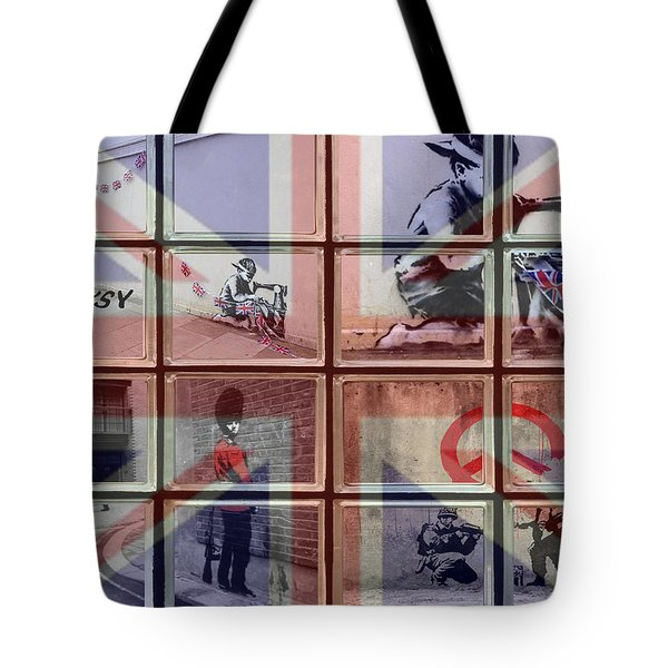 Banksy Street Art Tote Bag
