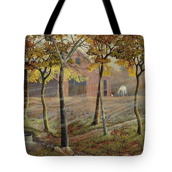 Barrel Spring Tote Bag