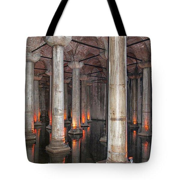 Basilica Cistern 02 Tote Bag