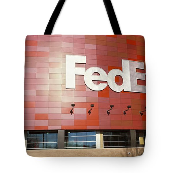 Basketball Stadium In The City, Fedex Tote Bag