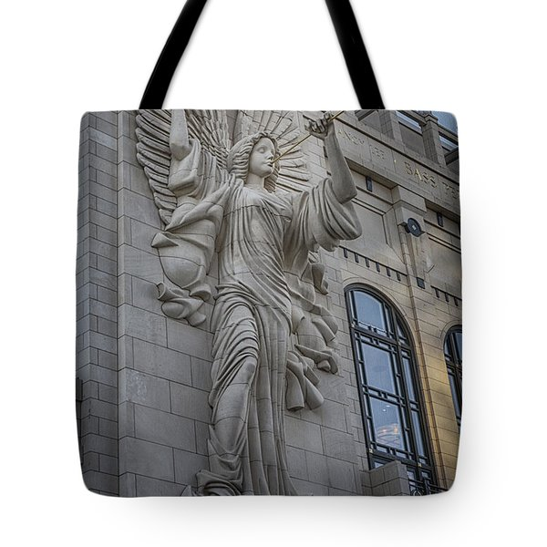 Bass Hall Angel Tote Bag