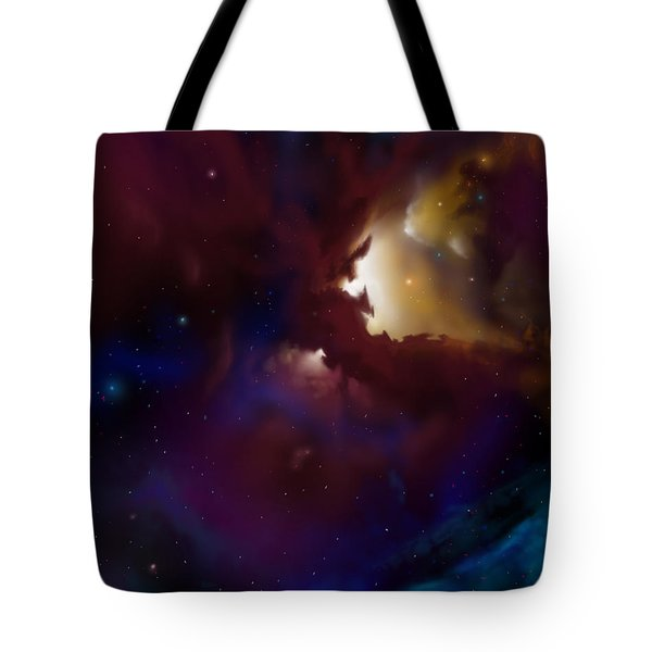 Bat Nebula Tote Bag