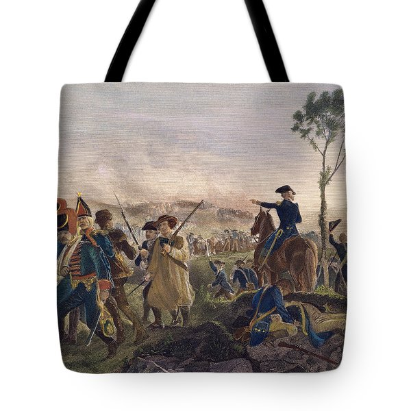 Battle Of Bennington, 1777 Tote Bag by Granger