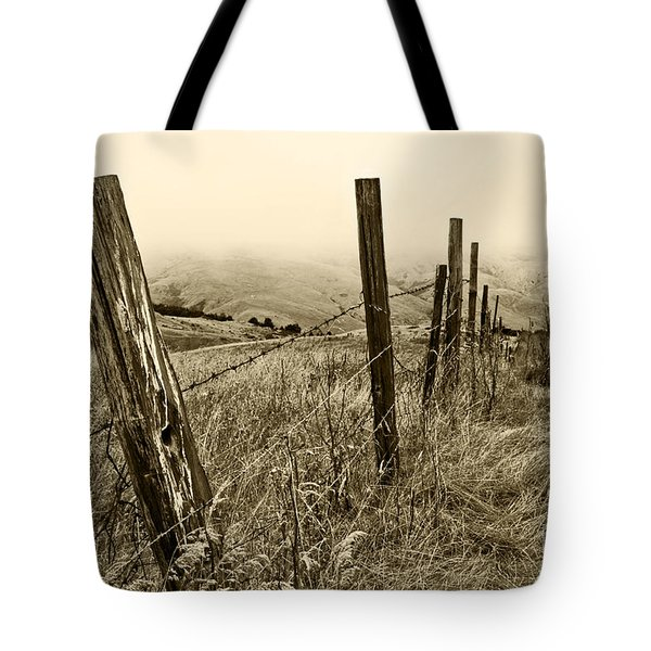 Bay Hill Road Tote Bag