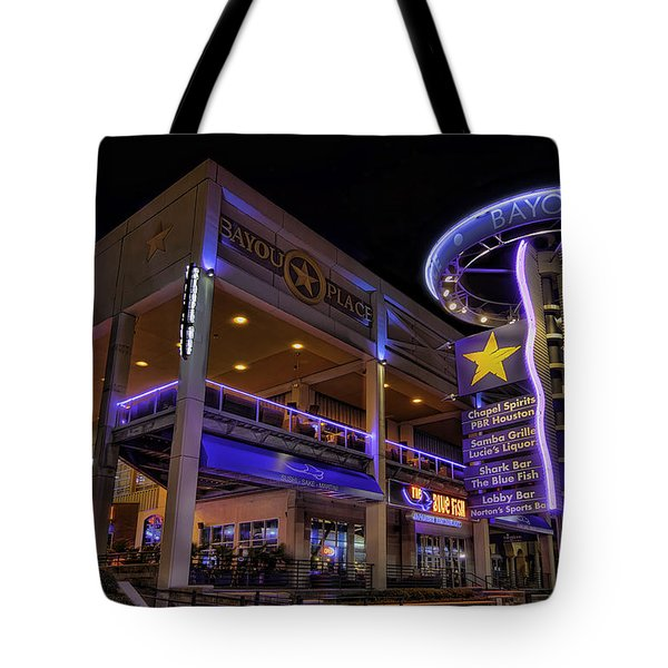 Bayou Place Tote Bag by Tim Stanley