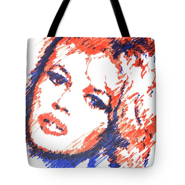 BB Tote Bag by Victor Minca