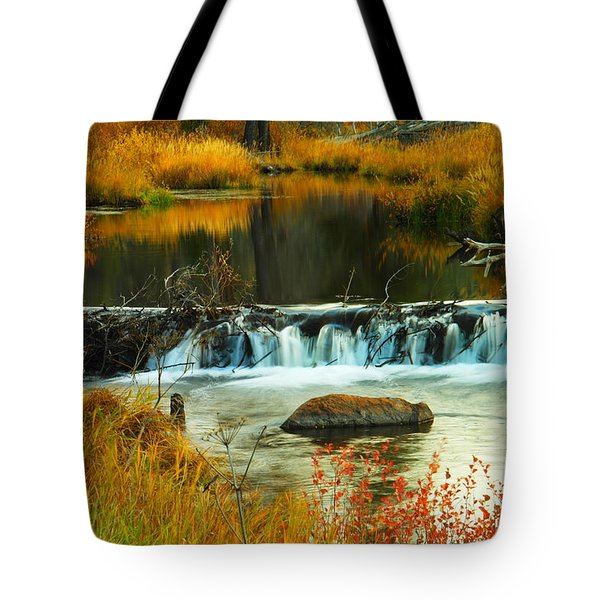 Waters Of Solace Tote Bag