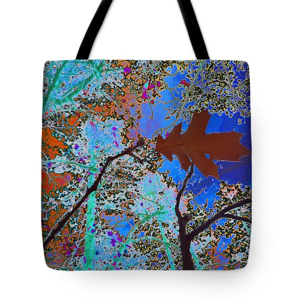 before the descent BLUE Tote Bag