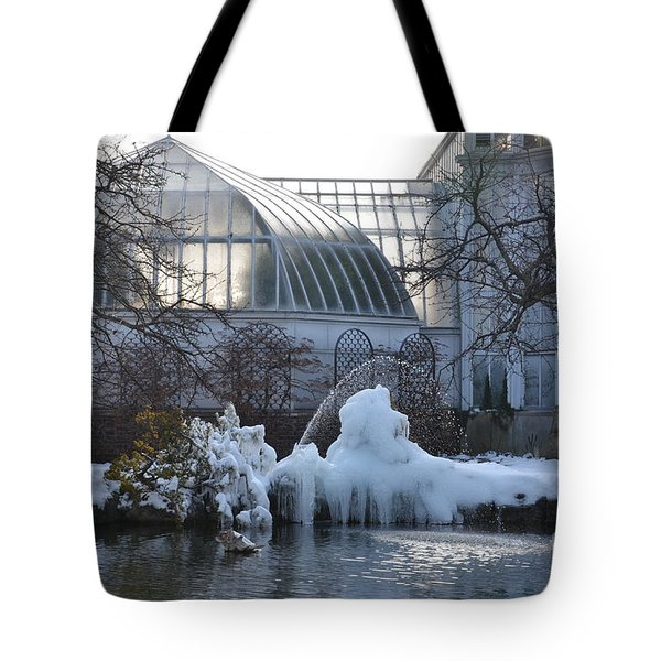 Belle Isle Conservatory Pond 2 Tote Bag