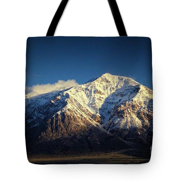 Ben Lomond Peak-utah Tote Bag
