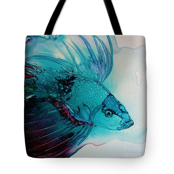 Betta Dragon Fish Tote Bag