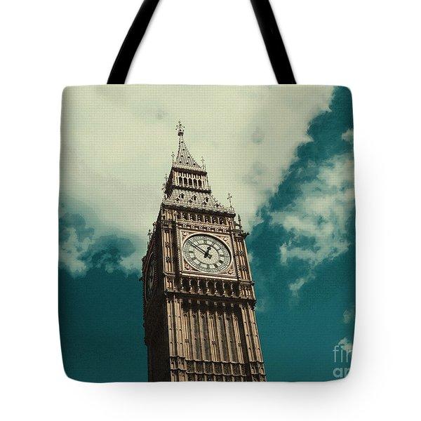 Big Ben In London Tote Bag