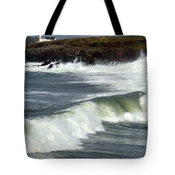Big Swell Tote Bag by Barbara Walsh