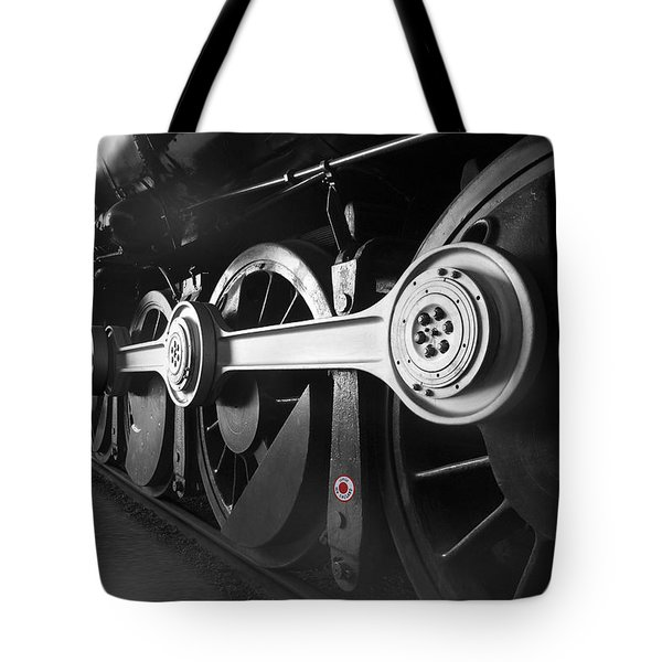 Big Wheels Tote Bag by Mike McGlothlen